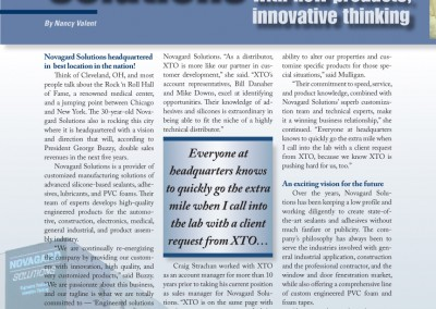 Novagard brochure by NMV Strategies